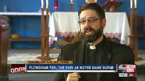 Florida architect reacts to Notre Dame church fire [Video]
