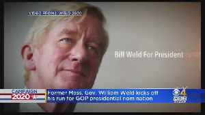 Bill Weld Seeking GOP Nomination For President In 2020 [Video]