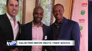 Tiger Woods and Valentino Dixon: Two comeback stories collide at Augusta National [Video]
