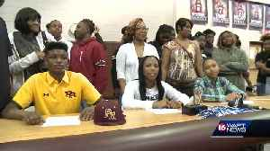 Lanier trio signs scholarships [Video]