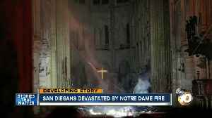 San Diegans devastated by Notre Dame fire [Video]