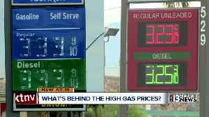 High gas prices in California impacting southern Nevada [Video]