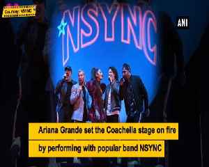 News video: Ariana Grande performs with NSYNC at Coachella 2019