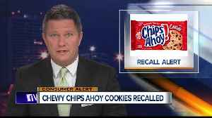 Chewy Chips Ahoy 13-ounce cookies recalled [Video]