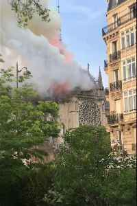 Notre Dame Cathedral Spire Consumed by Fire [Video]