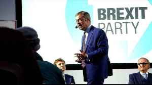 UK: Nigel Farage launches Brexit party [Video]
