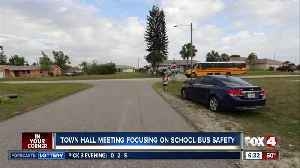 Town hall meeting Tuesday will focus on school bus safety in Lee County [Video]