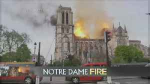 Notre Dame Fire: Shell Remains Of Historic Church In Paris [Video]
