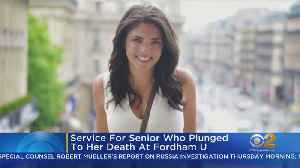 Memorial Planned For Fordham Student Who Fell To From Clock Tower [Video]