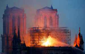 Fire tore through Notre Dame cathedral in France [Video]