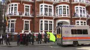 News video: Ecuador Embassy: We've Been Hit With 40 Million Cyber Attacks Since Assange Arrest