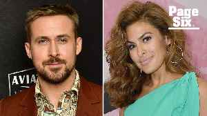 Eva Mendes and Ryan Gosling went from co-stars to secret lovers [Video]