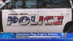 Laguna Beach To Take On Controversy Over Police Cruiser Logo Design [Video]