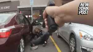 'Drop the gun!': new bodycam shows police shooting of armed suspect at Burger King [Video]