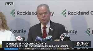 Web Extra: Rockland Officials Announce Next Steps In Measles Outbreak [Video]