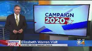 Elizabeth Warren To Visit Aurora [Video]