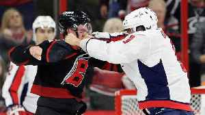 News video: Alex Ovechkin Knoced Out A 19-year-Old In His First Fight In A Decade