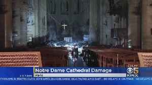Video Shows First Glimpse Inside Burned Notre Dame Cathedral In Paris [Video]