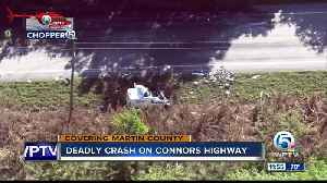 35-year-old Hobe Sound man killed in Martin County crash [Video]