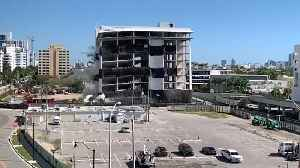 Abandoned Hospital Imploded in Miami Beach to Make Way for Development [Video]