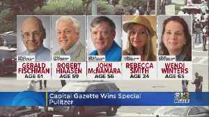 News video: Capital Gazette Wins Special Pulitzer