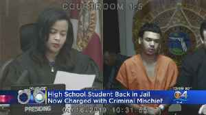 Student Who Tried Wrestling Move On Principal Faces New Charges [Video]