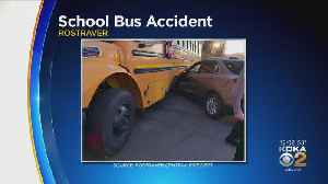 School Bus Crashes In Rostraver Township, Children On Board [Video]