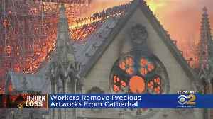 Debris, Ash Found Inside Notre Dame Cathedral In Paris [Video]