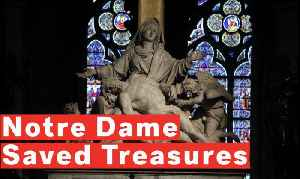 News video: 6 Priceless Treasures Saved From The Notre Dame Fire