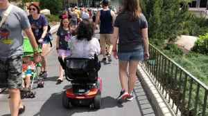 Scooters at packed Disney theme parks spawn accidents, lawsuits and glares [Video]