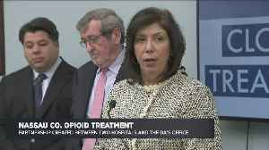 Pilot Program To Combat Opioid Abuse In Nassau County [Video]