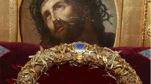 Fearless Priest Entered Notre-Dame To Rescue Crown Of Thorns Relic Amid Fire [Video]
