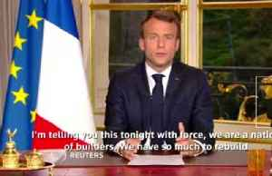 News video: France's Macron commits to renovating Notre-Dame within five years