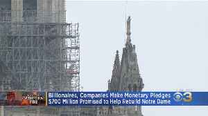 Notre Dame Cathedral Will Likely Take 10 To 15 Years To Fully Restore, Expert Says [Video]