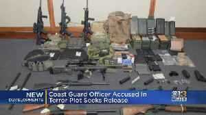 Coast Guard Officer Accused In Terror Plot Seeks Release [Video]