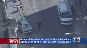Man Intentionally Drives Car Into Group Of People In North Philadelphia, Police Say [Video]