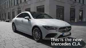 This is the new Mercedes CLA [Video]