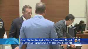 Former BSO Sheriff Scott Israel Files Lawsuit [Video]