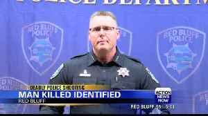 Red Bluff police respond to the deadly officer involved shooting [Video]
