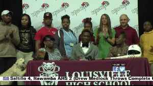 Louisville's Eiland signs with Holmes baseball [Video]