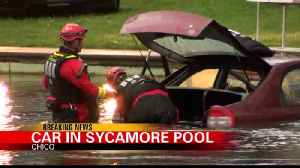 Car in Sycamore Pool [Video]