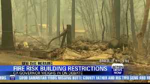 Gov. Newsom reluctant to restrict construction in fire-risk areas [Video]