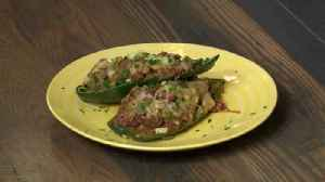 Fill up some chili stuffed poblano peppers with Chef Allison Davis [Video]
