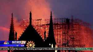 Locals react to the Notre Dame Cathedral fire [Video]