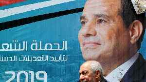 Egypt's president could stay in power until 2030 [Video]
