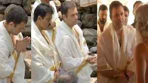 Rahul Gandhi visits Wayanad's Thirunelli Temple during Kerala Rally | Oneindia News [Video]