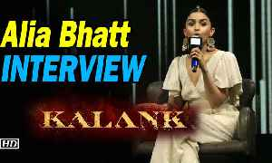 Alia Bhatt INTERVIEW | KALANK |  I lack the grace of a typical heroine [Video]