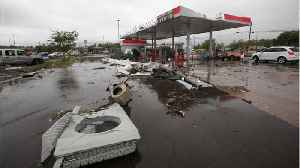 Tornadoes, Thunderstorms Continue To Pound U.S. South & Midwest [Video]