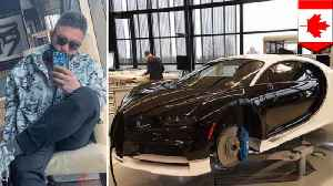 Rich brat buys Bugatti with dad's money, complains about taxes [Video]