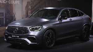 Mercedes-Benz Cars at the 2019 New York International Auto Show - Pre-Evening [Video]